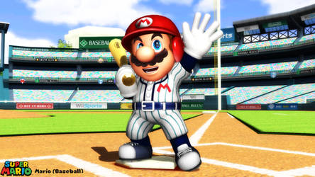 (MMD Model) Mario (Baseball) Download