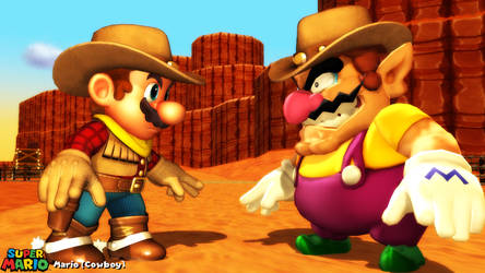 (MMD Model) Mario (Cowboy) Download