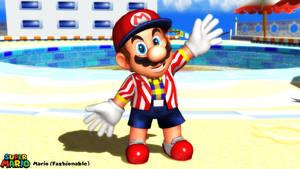 (MMD Model) Mario (Fashionable) Download