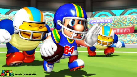 (MMD Model) Mario (Football) Download