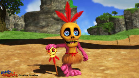 (MMD Model) Mumbo Jumbo Download