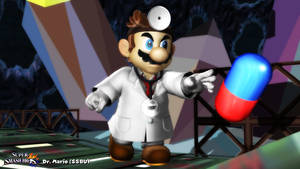 (MMD Model) Dr. Mario (SSBU) Download