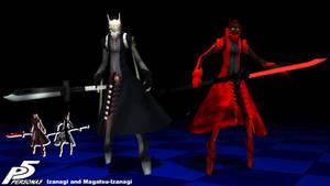 (MMD Model) Izanagi and Magatsu-Izanagi Download