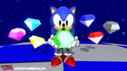 (MMD Model) Chaos Emeralds (Classic)  Download