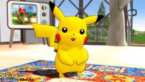 (MMD/Blender Model) Pikachu (Pokemon Channel) DL