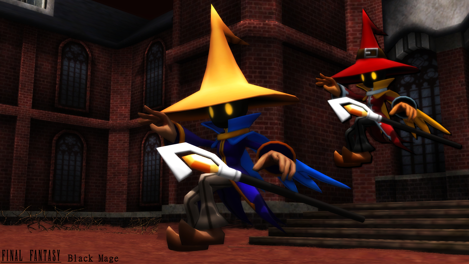 Mmd Model Black Mage Download By Sab64 On Deviantart