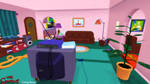 (MMD Stage) Simpsons Living Room Download