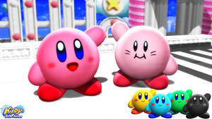 (MMD Model) Kirby (Star Allies) Download