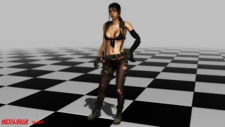(MMD Model) Quiet Download