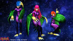 (MMD Model) Harpie Lady Sisters Download