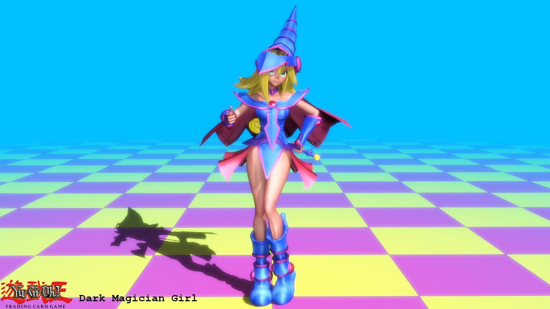 (MMD Model) Dark Magician Girl (DSOD) Download