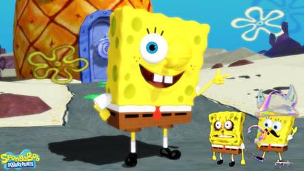 (MMD Model) Spongebob Squarepants (Rehydrated) DL