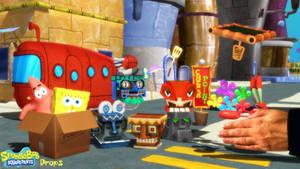 (MMD Model) Spongebob: BFBBR Props Download