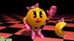 (MMD/FBX Model) Ms. Pac-Man Download