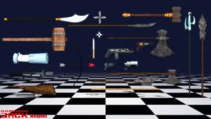 (MMD Model) Weapons (Samurai Jack) Download