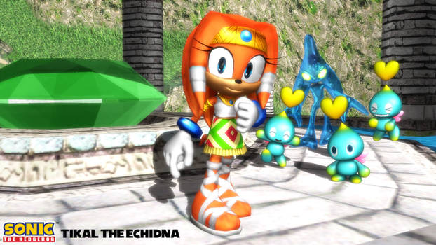 (MMD/FBX Model) Tikal the Echidna Download