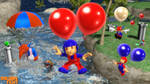 (MMD Model) Balloon Fight Set Download by SAB64