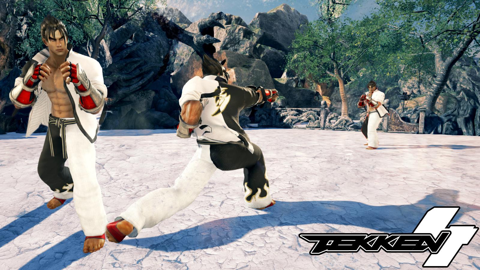 Tekken 7 Jin Kazama Tekken 4 Costume Mod By Thebigbenj On Deviantart