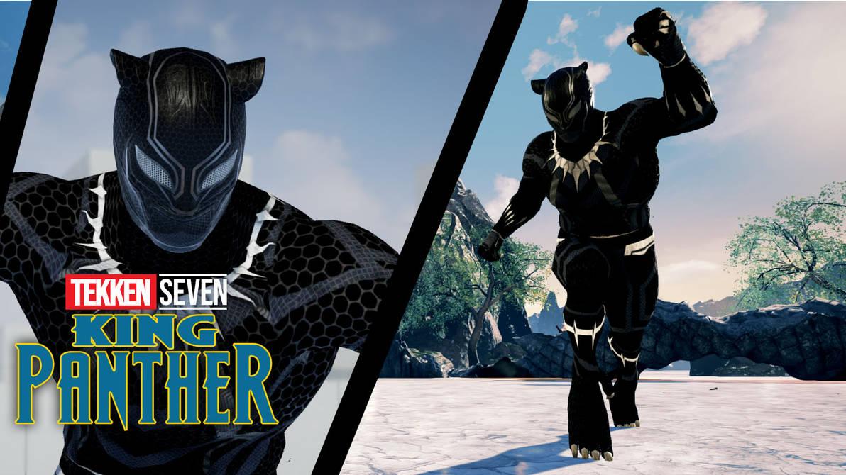 Tekken 7 King Black Panther Mod By Thebigbenj On Deviantart