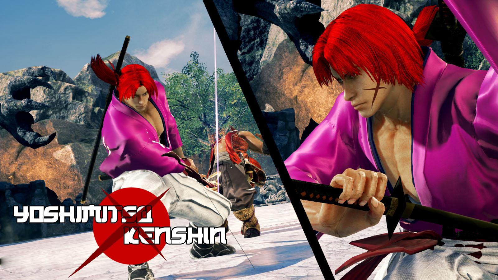 Tekken 7 Yoshimitsu Kenshin Himura Mod By Thebigbenj On Deviantart