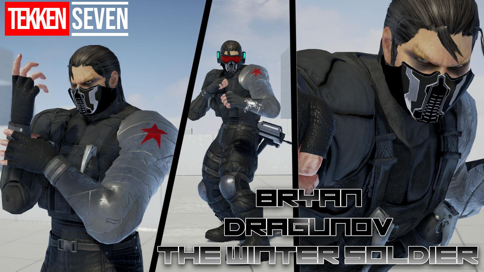 Tekken 7 Bryan And Dragunov Winter Soldier Mod By Thebigbenj On Deviantart