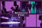 Believer Imagine Dragons PSD