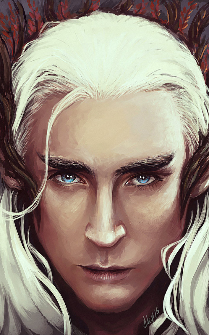 Thranduil Oc Fanfiction Travel With Dwarves Queen Gandalf Ring Portal