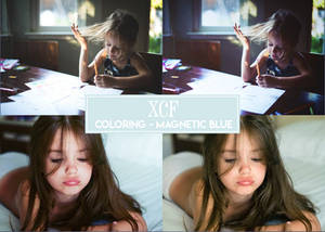 XCF - Coloring Magnetic Blue
