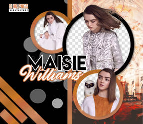Pack PNGs - Maisie Williams by albathetroz