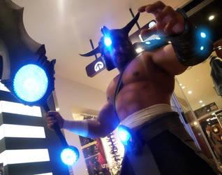 Tryndamere Spotlight - Spinning Slash by Drefan-cosplay