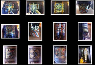 China Royal and Mandarin Fabric Textures Pack