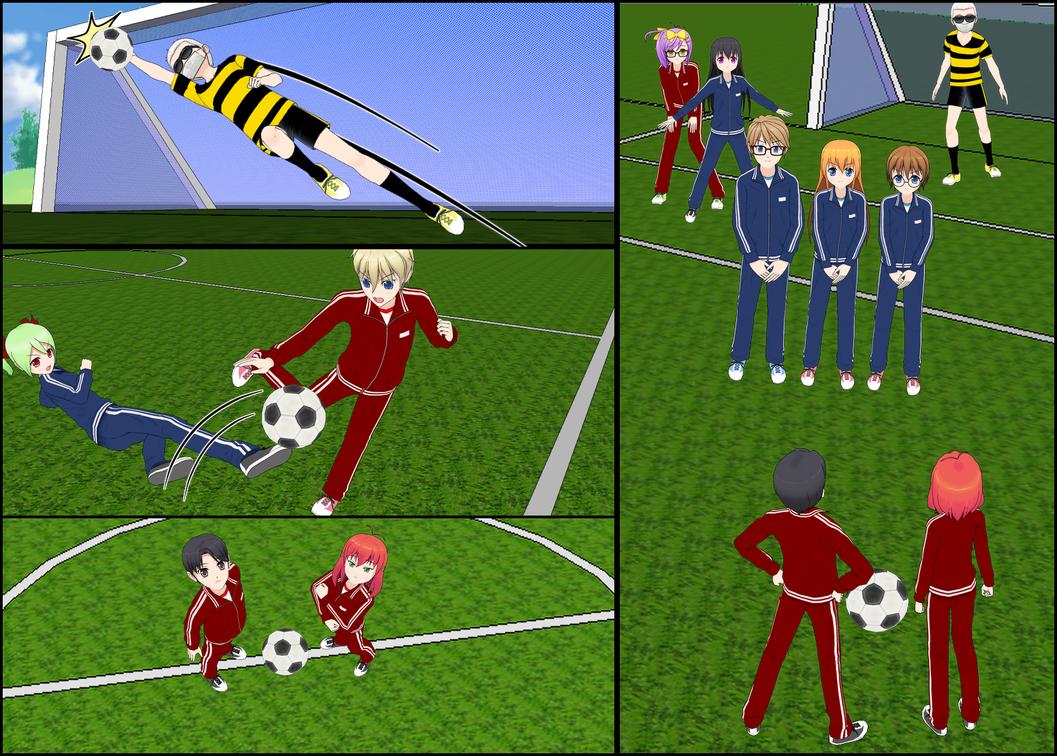Football Field Background by Afnan-kun