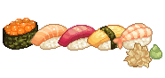 Sushi icons by Kiyorin
