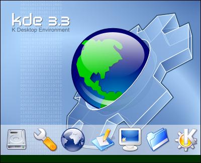 KDE 3.3 Splash-screen by arcisz