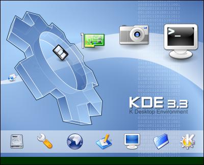 KDE 3.3 K Way Splash-screen by arcisz