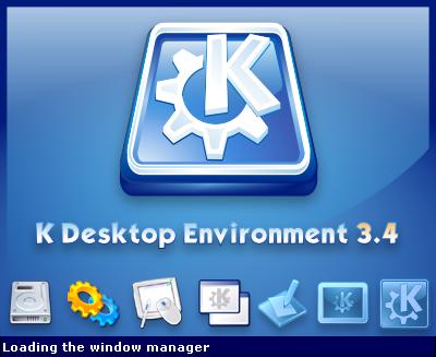 KDE 3.4 Splash Screen by arcisz