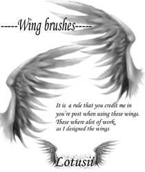 AngelicWingBrush by lotusii