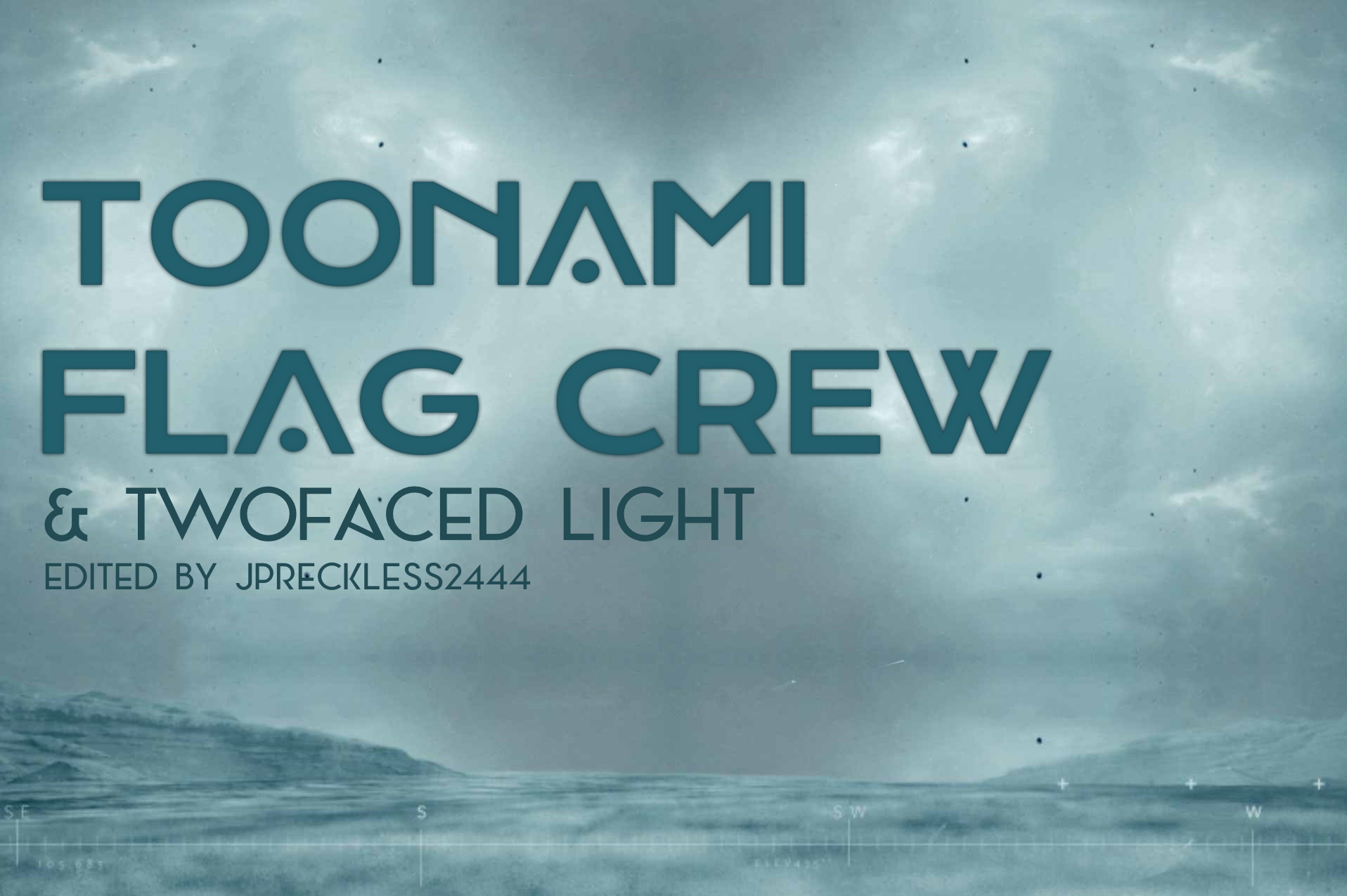 Toonami Flag Crew and Twofaced Light by JPReckless2444