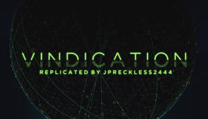 Toonami - Vindication Font by JPReckless2444