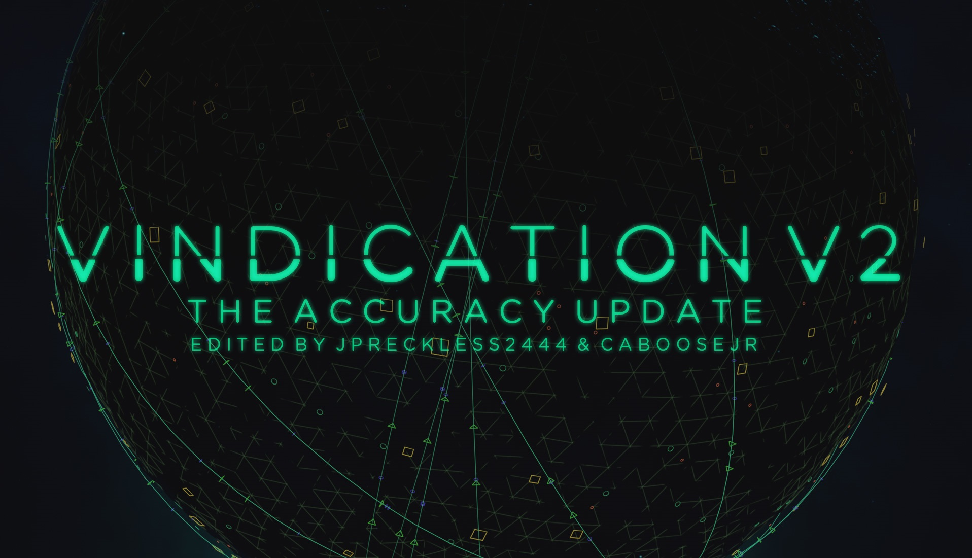 Toonami - Vindication V2 Font by JPReckless2444
