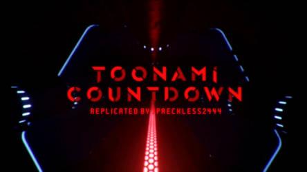 Toonami - Countdown Font