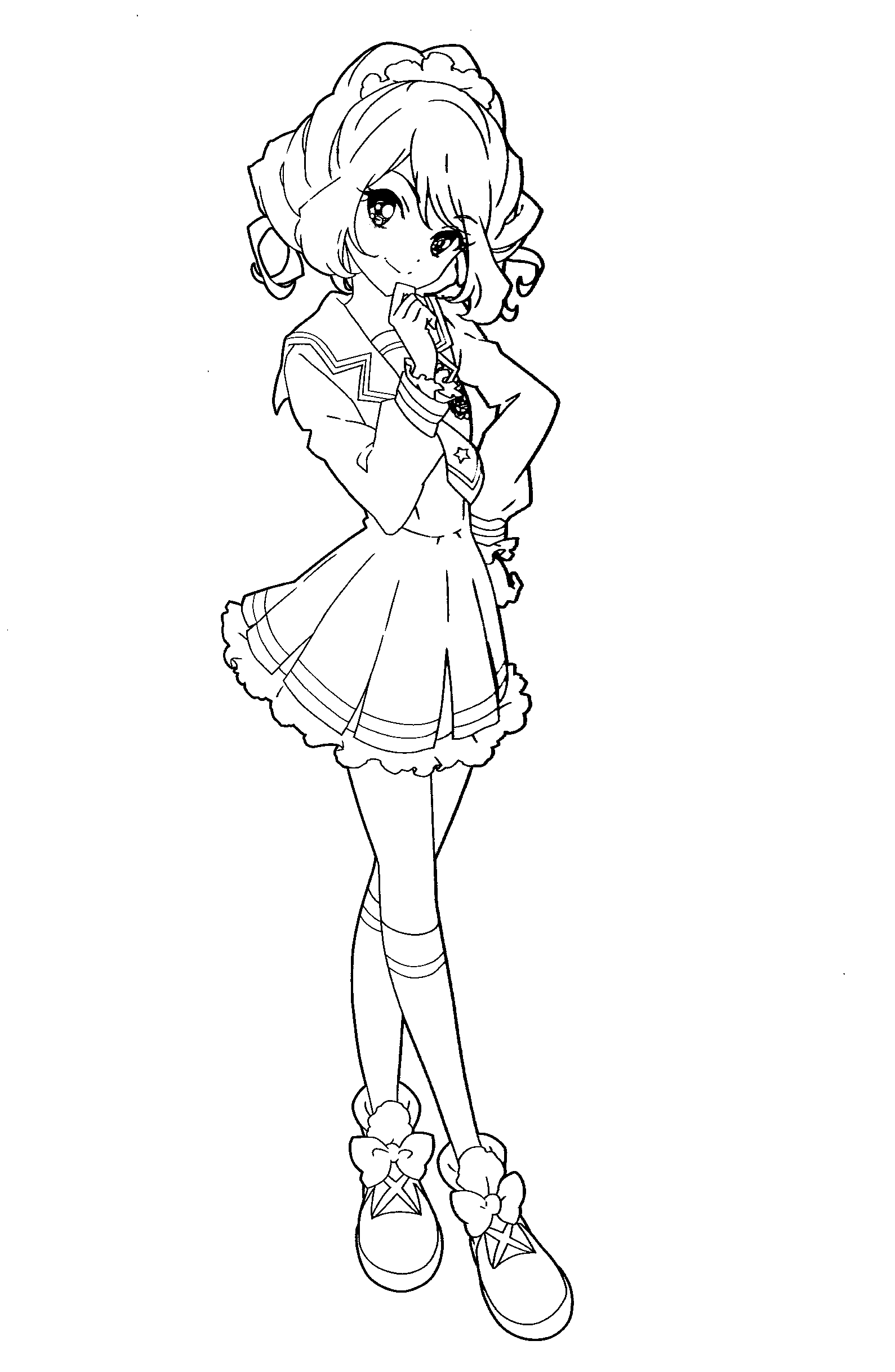 Aikatsu Stars Coloring Pages by Atem3337 on DeviantArt