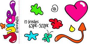 Juice:Brush Set: