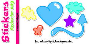 Sticker:Styles: