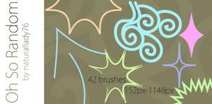 Oh So Random:Brush Set: