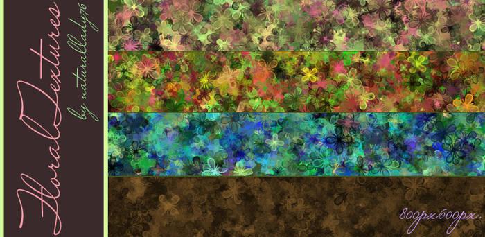 Floral:Textures: