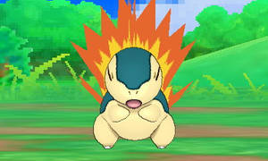 Cyndaquil Flame Animation