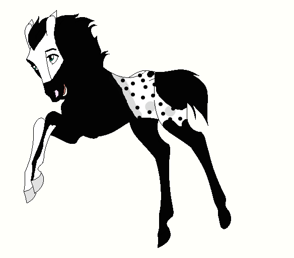 Horse Ship it Result #9 - Shadowvale x Bellefire by mkayswritings