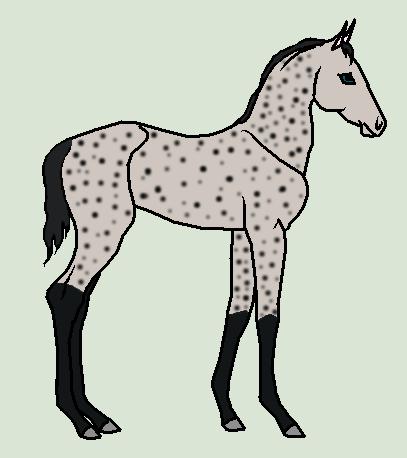 Horse Ship It #27 - Astarios x Peridot by mkayswritings