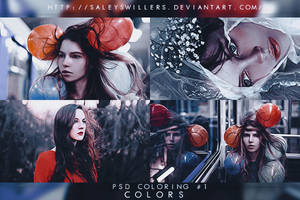 PSD COLORING #1 [COLORS] by irwinbae